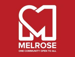 Bo Tsang DiMatteo logo Melrose One Community Open to All