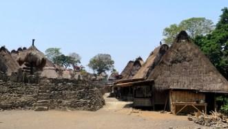 Salah satu sudut desa Bena