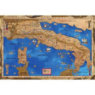 Medieval Map of Italy  Medieval Objects for sale   Avalon Medieval Map of Italy