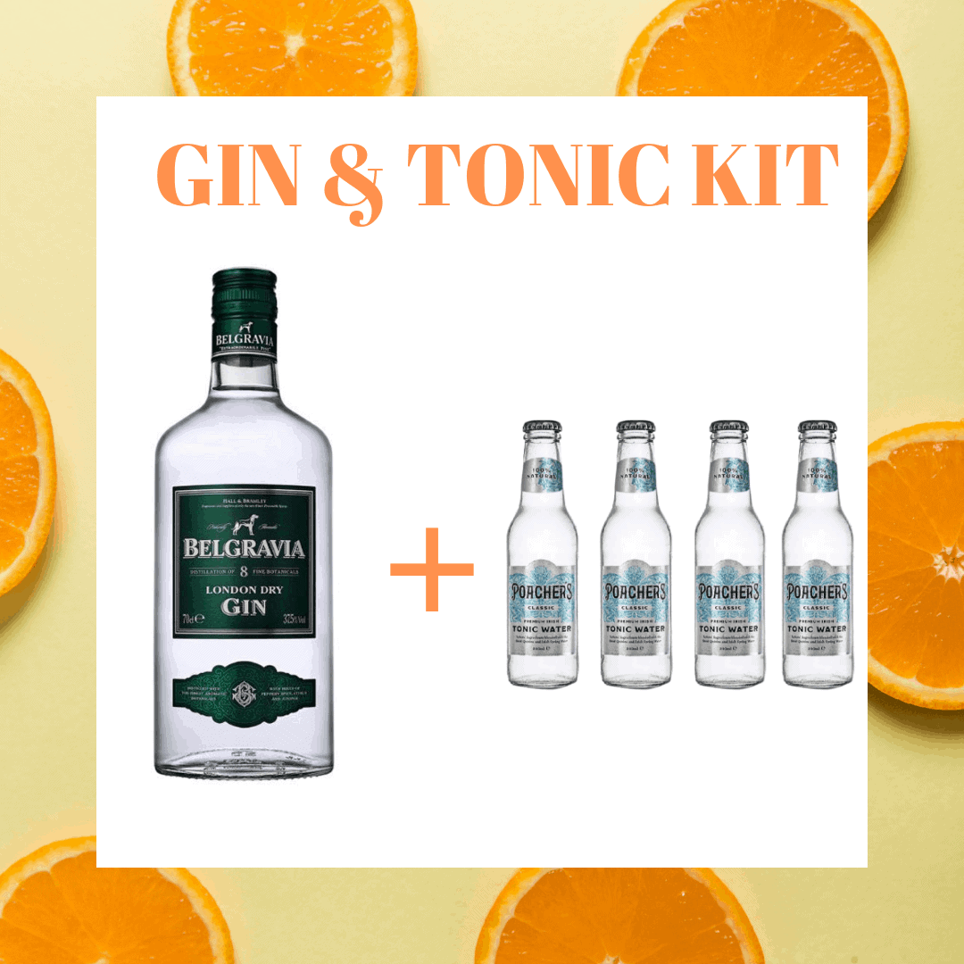 Belgravia Gin & Tonic Kit
