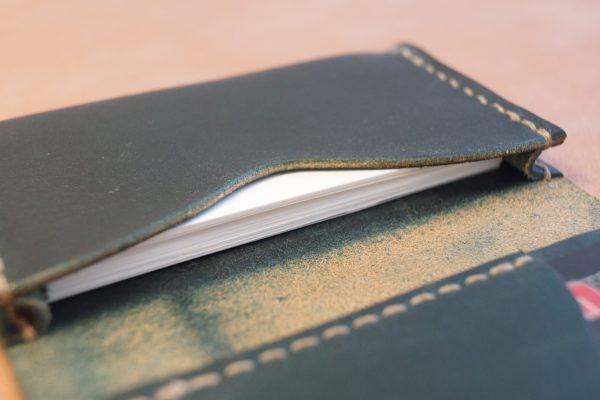 革の名刺入れ カードケース