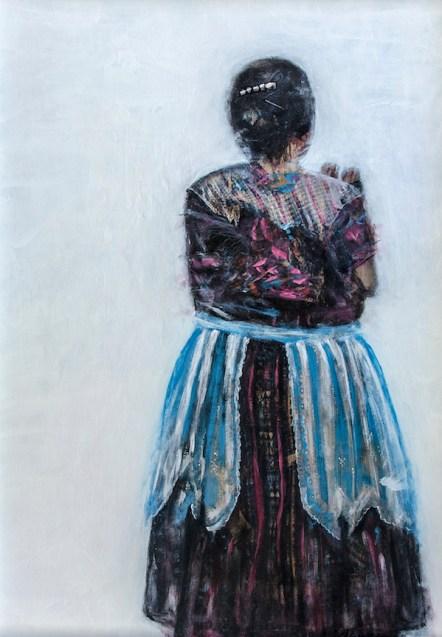 Colorful Traditions| 2016 | ORIGINAL SOLD | ©LESLIE M. GUZMÁN