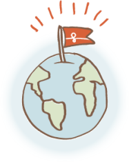 couchsurfing planète - logo
