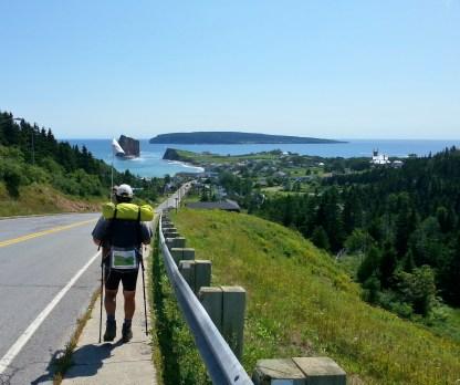 Bottes et Vélo - Pèlerinage La Voie du St-Laurent - Juillet 2014