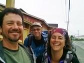 De Matane à Percé - Richard notre compagnon de pèlerinage!