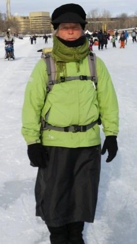Ann Sieben - Arrivée à Ottawa