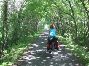 Le Québec à vélo