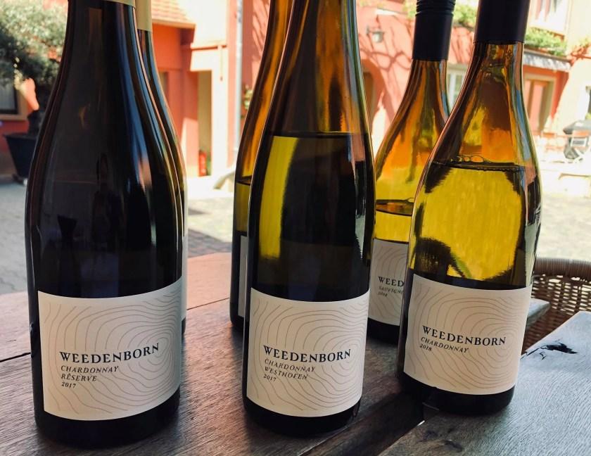 Weingut Weedenborn, Winzerin, Gesine Roll, Monzernheim, Sauvignon Blanc, Chardonnay, Rheinhessen, Wein, Bottled Grapes