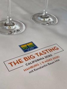 The Big Tasting California 2020 mit Konstantin Baum in Hamburg