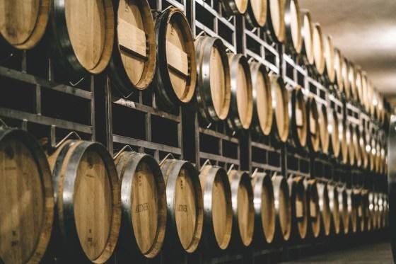 Weinkeller im Weingut Artner im Carnuntum