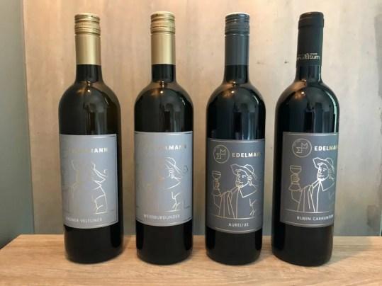 Weine vom Weingut Manfred Edelmann