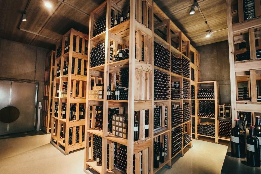 Wein-Archiv des Weinguts Gross in Österreich.