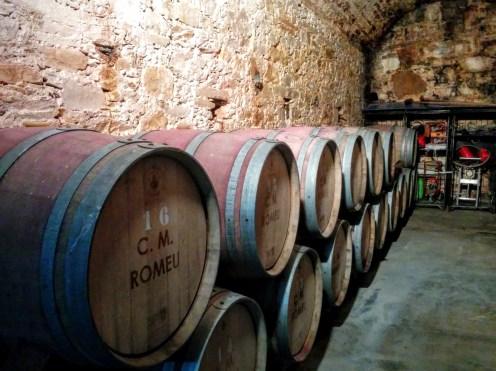 Romeu barrel cellar