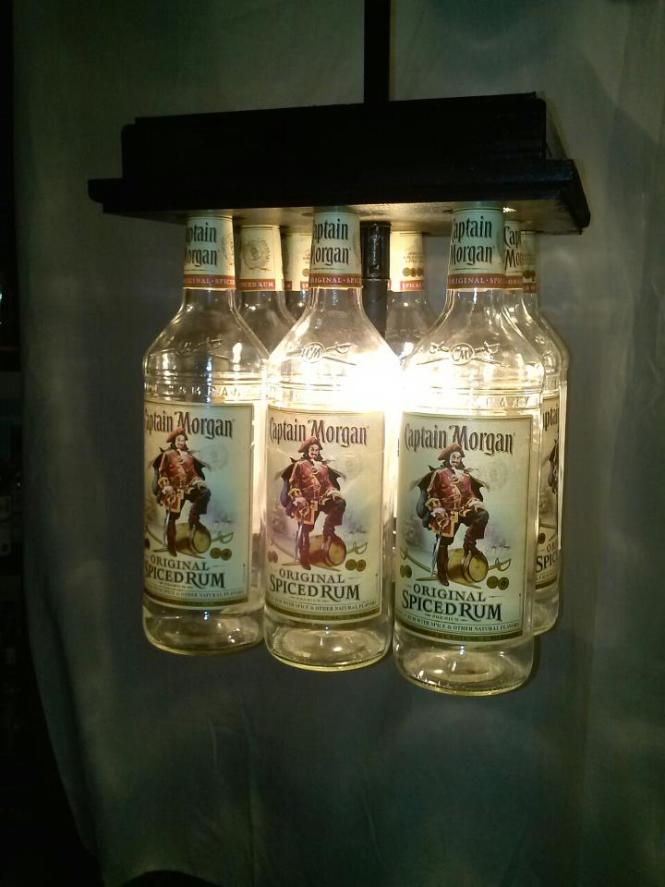 Captain Morgan Bar Light Table Chandelier