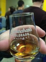 Tasting some Stranahan's Snowflake.. yum!