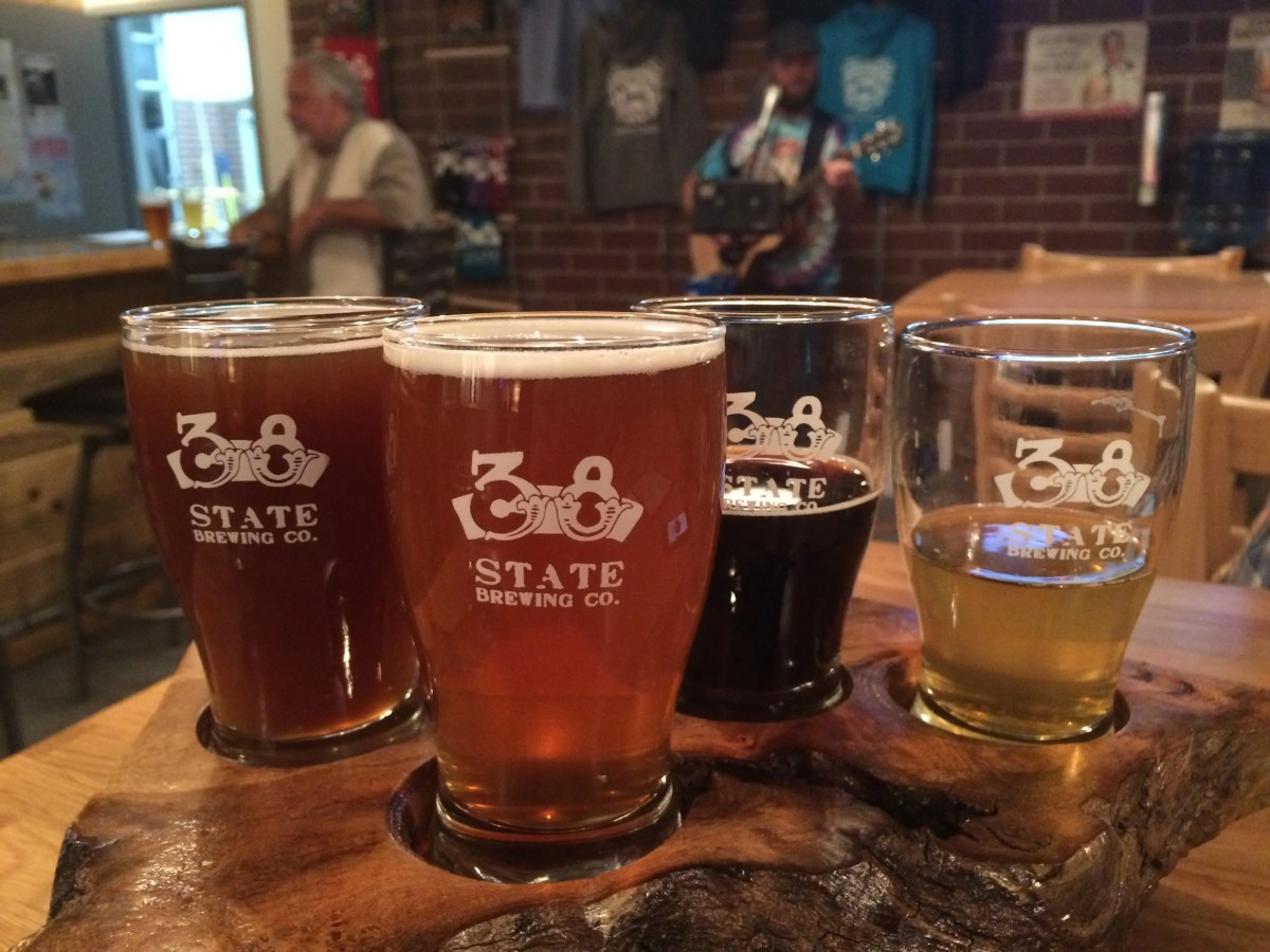 Fun and Games at 38 State Brewing Company