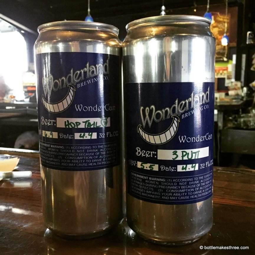 Wonderland Brewing, Broomfield CO   bottlemakesthree.com