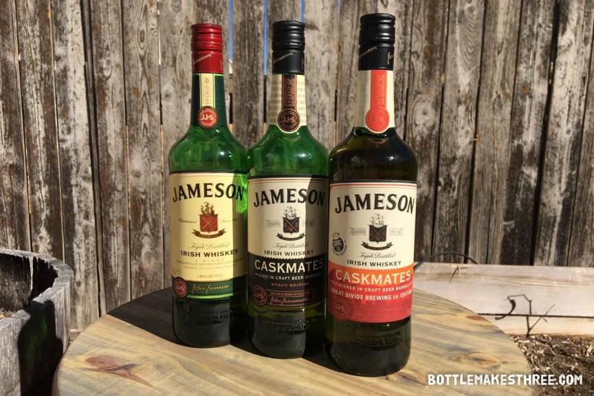 Jameson Caskmates Great Divide Brewing Co Edition | BottleMakesThree.com