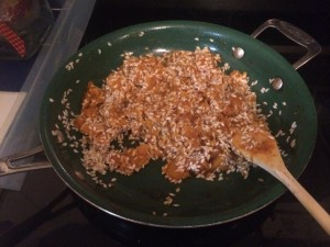 It looks sesame-y and weird--but it's just the beginning. I posted this so you don't feel like you messed up! :)