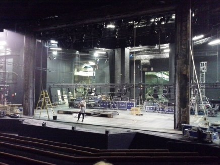 Barbican stage