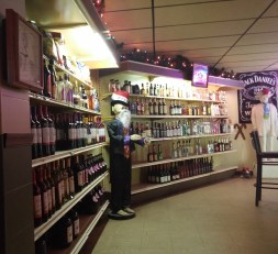 The hidden liquor store within Colonial Cafe