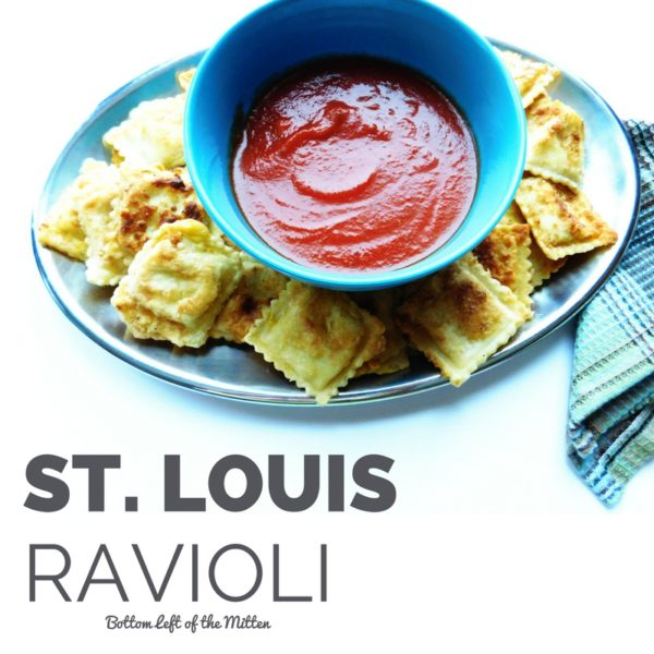 St. Louis Ravioli | Bottom Left of the Mitten
