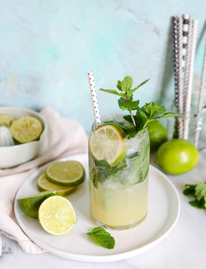 Mojito Margaritas from How Sweet It Is   'Celebrate with 8' for National Margarita Day   Bottom Left of the Mitten