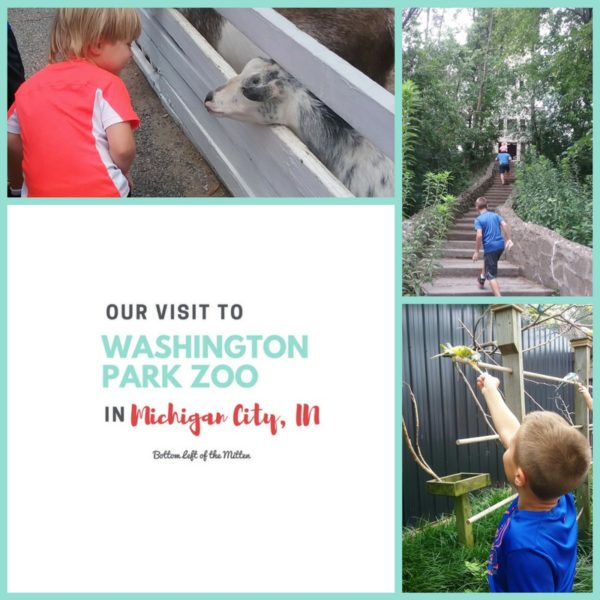 Visit to Washington Park Zoo in Michigan City   Bottom Left of the Mitten
