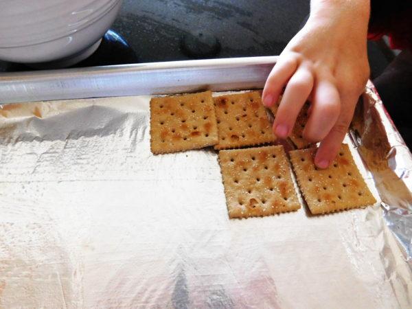Cracker Candy | Bottom Left of the Mitten