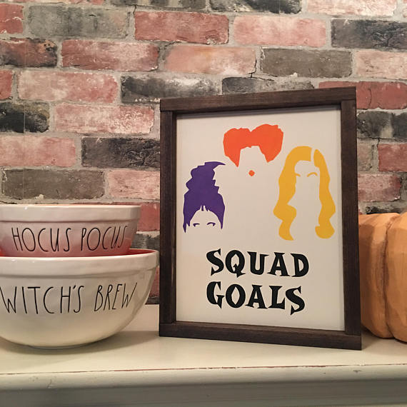 Squad Goals Hocus Pocus MotorCityCreations | Halloween Gift Guide | Bottom Left of the Mitten
