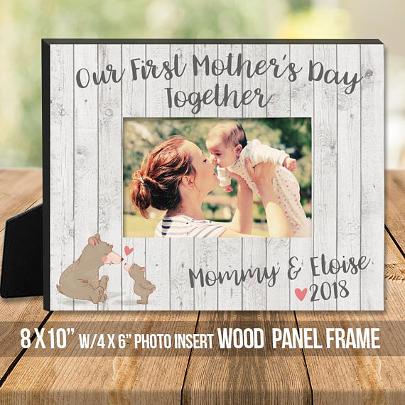 photo frame from Zoey's Attic | Mother's Day GIft Guide 2018 | Bottom Left of the Mitten