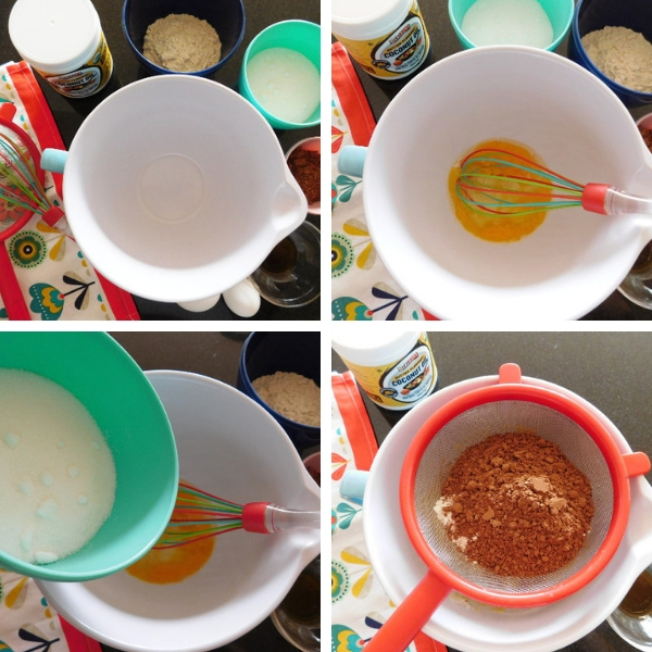 Ingredients and steps for how to cook a Swedish Sticky Chocolate Cake.