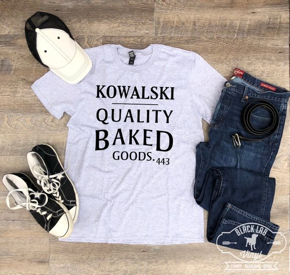 Kowalski Quality Baked Goods Unisex T Shirt Inspired by Fantastic Beasts from BlackLabVinyl | Celebrate with 8 Fantastic Beasts Gift Guide | Bottom Left of the Mitten