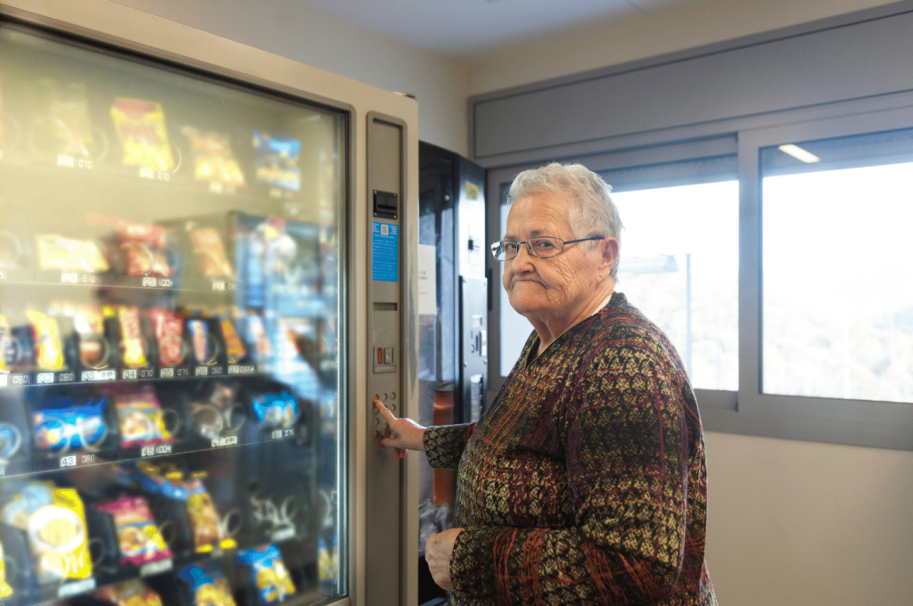 Healthcare facility vending services