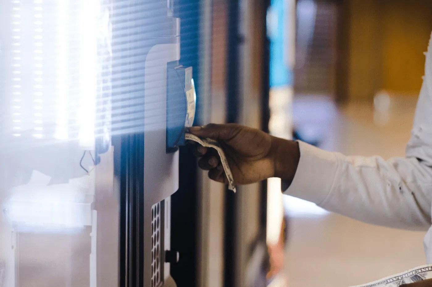 Kenosha WI Vending snack machine service