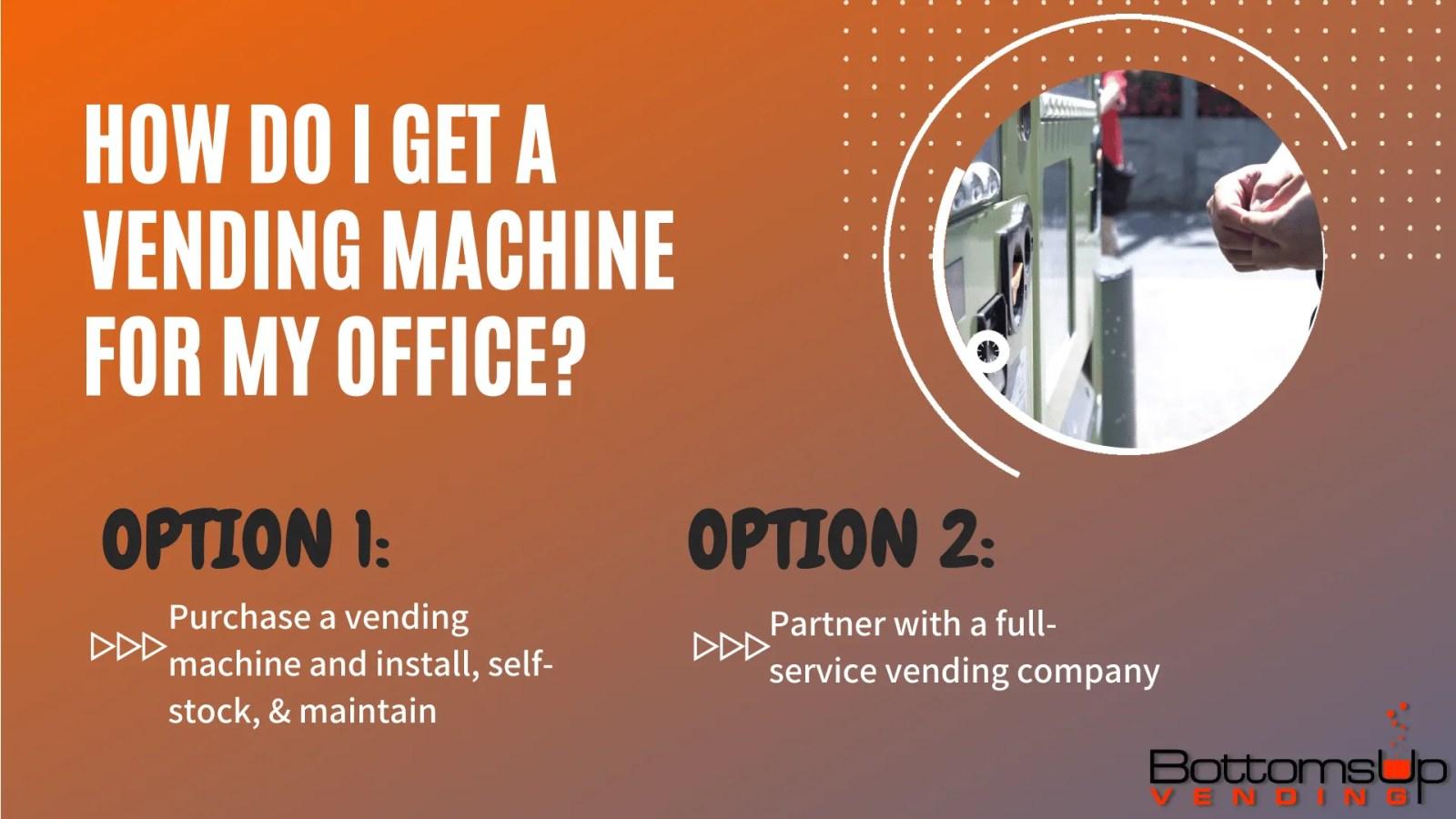 full-line or self-fill vending machines