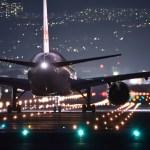 飛行機深夜便