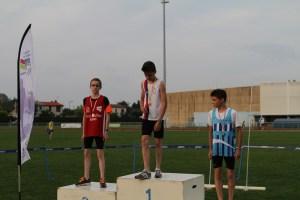Maxime vice-champion de Picardie sur 100m