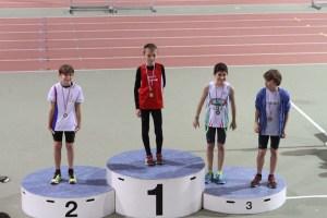 Lucas, champion de l'Oise du 2000m marche