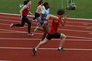 Ethel et Eva sur 100m