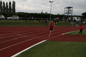 Thomas après 400m de course