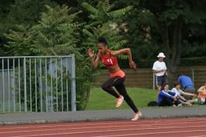 """Anathée réalise de très beaux championnats avec notamment un premier chrono sous les 13"""" au 100m!"""