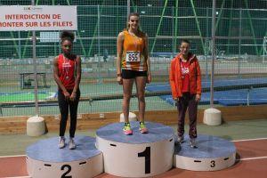 """Le """"faux"""" podium de Rébecca qui termine finalement 3ème"""