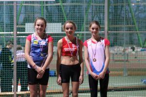 Clara championne de l'Oise sur 50m
