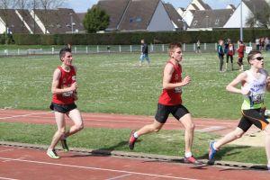 Thomas et Jimmy sur 1500m