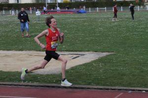 Jan dans la dernière ligne droite du 1500m