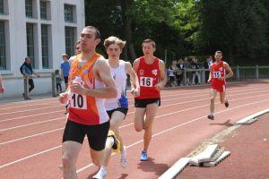 Benjamin et Anthony sur 1500m