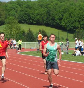 Pierre sur 100m