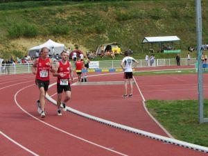 Fabrice et Romuald sur 3000m