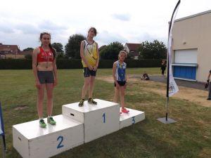 Romane vice-championne de Picardie du 200m haies